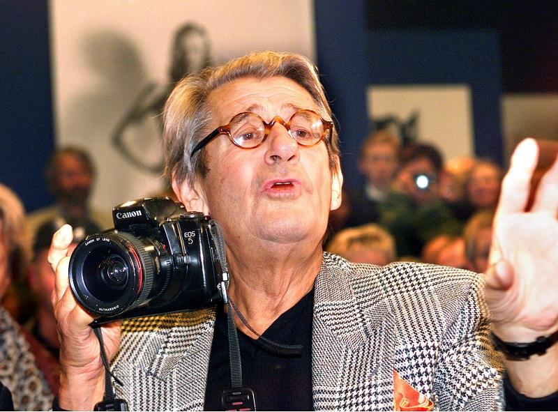 Fotografo Helmut Newton